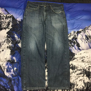🔥 Levi's 550 Relaxed Denim Jeans Size 38x30